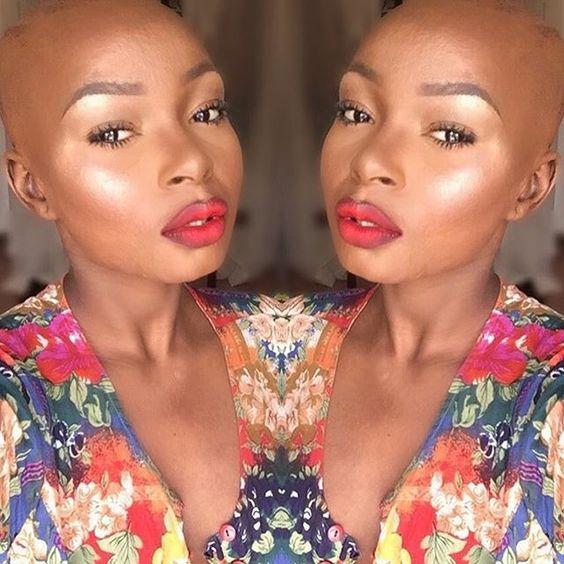 The Glow Life ✨  #makeupformelaningirls #cocoaswatches  #nyemakeup #happynewyear #nye #makeupvideo #colourpopcosmetics #anastasiabeverlyhills #abh #hudabeauty #newyearsevemakeup #newyearsmakeupideas #baldhead  #mua #dmvmua #blackbeauty #blackgirlmakeup #undiscoveredwoc #sheamoisture4u #shameless #positivevibes #passion2016 #muanation #Undiscovered_Muas #wakeupandmakeup #glowing #highlightonfleek #redlipstick #hairmakeupdiary #GoldenGlobes