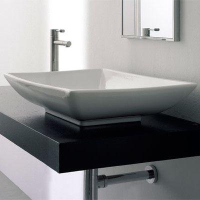 Scarabeo by Nameeks Kylis Above Counter Bathroom Sink | Sink ...
