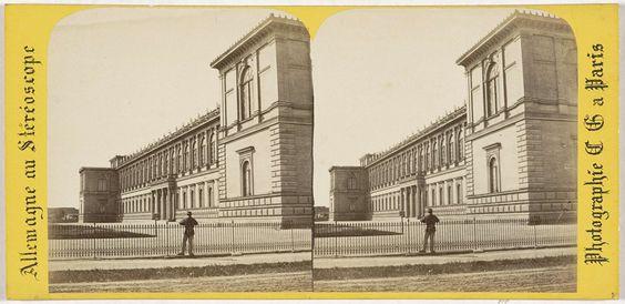 Charles Gerard | Munich (Baviere), Ancienne Pinacotheque, Charles Gerard, 1860 - 1870 |