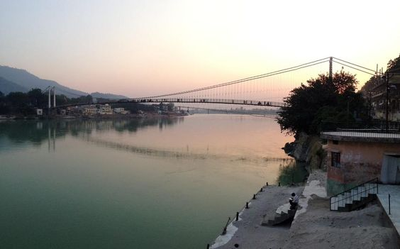 #Rishikesh #Sunset #IncredibleIndia #Ganges #Dawn