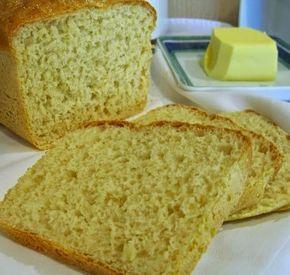 Pão de Farinha de Milho Amarela | Máquina de Pão