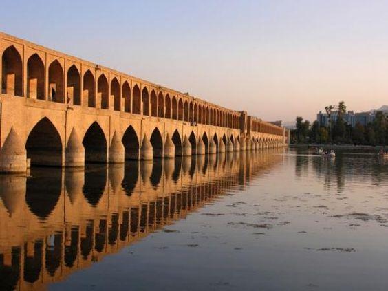 Le pont si o se pol ispahan au coucher du soleil - L heure du coucher du soleil aujourd hui ...