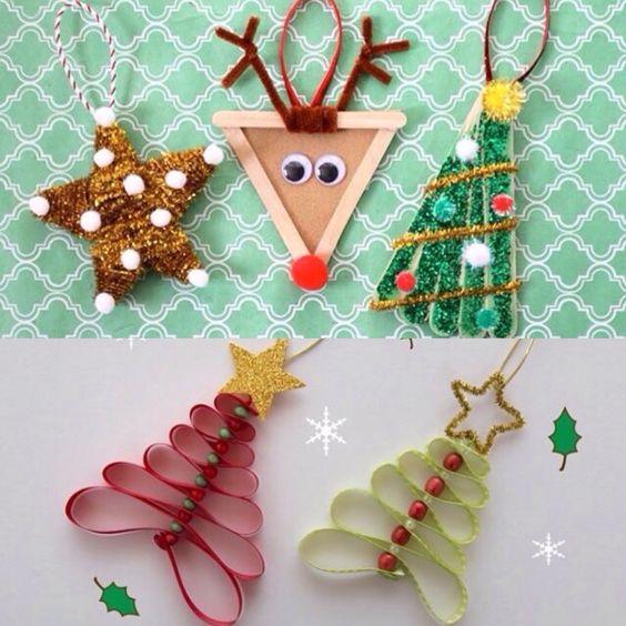 Siente el espíritu de la Navidad! ⛄️♻️ Adornos Navideños Reciclados #RecycledDIY