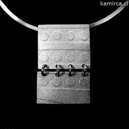 Kamirca-Karina Miranda_Joyas de Autor- Colgante plata 950