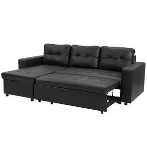 Black Leather Sofa Bed Melbourne Australia Di 2020