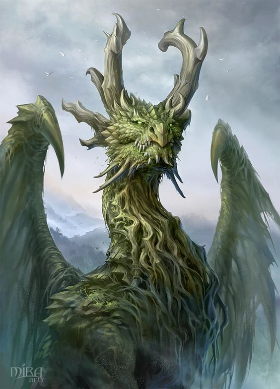 Forest Dragon by sandara on DeviantArt: