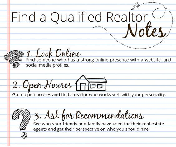 How can you find a qualified Realtor?