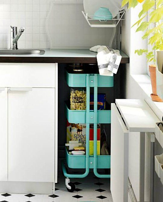 Kitchen Cabinets For Small Spaces: 10 Functional & Flexible IKEA Products For Small Spaces