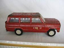 1967 Mini-Tonka Fire Chief Jeep No.66