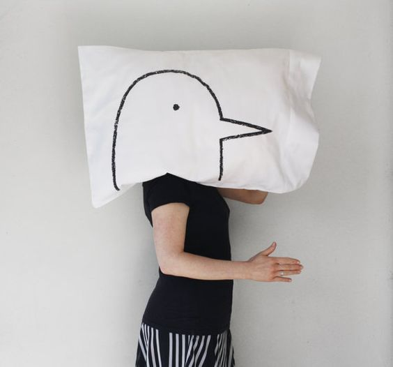 NEW Love Bird Pillow case  300TC Standard  home decor by Xenotees, $18.00