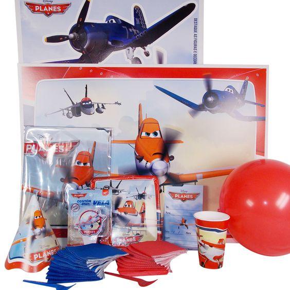 Kit Festa Completa Aviões Planes Disney  http://www.tozaki.com.br/produto/6208/kit+festa+completa+planes+disney+-+08+convidados