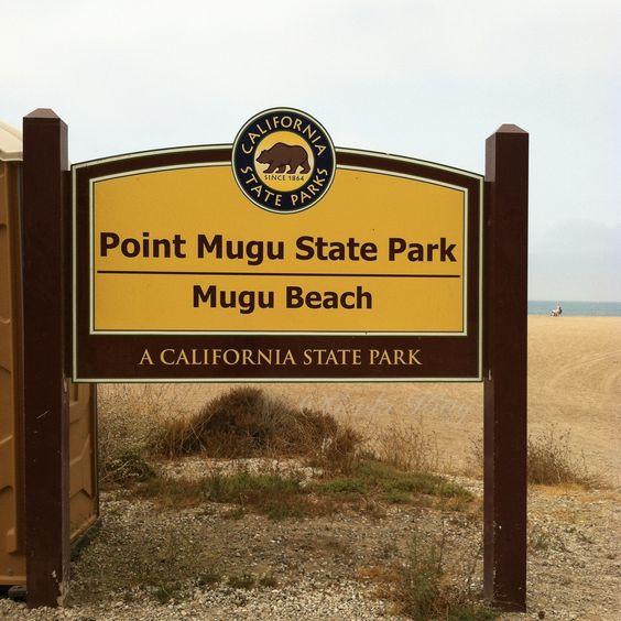Pt Mugu Beach