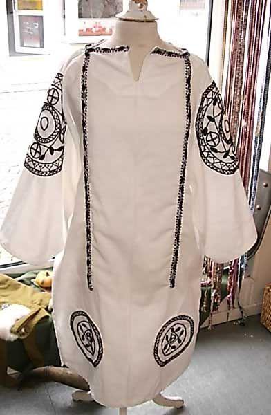 Römische Tunika, Rund- und Längs-claven, handgearbeitet Roman tunic, Clavi, handmade