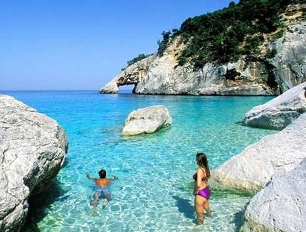 Sardinia Second Largest Island In Mediterranean Travel Pinterest Sardinia Italy And