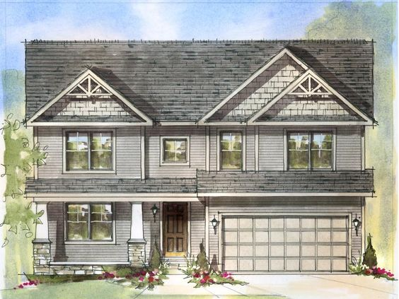 Ashley a midwest schumacher homes house plans for Midwest home designs