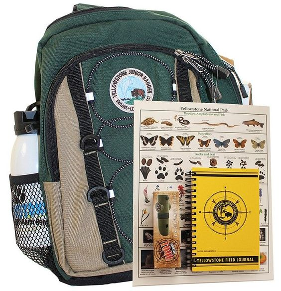 Jr Ranger Backpack Kit | Yellowstone Association