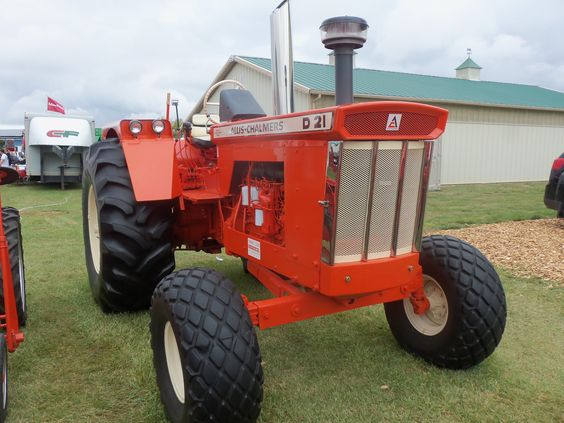 Allis Chalmers D21 Series 2 Tested In 1965 At 127 Pto Hp