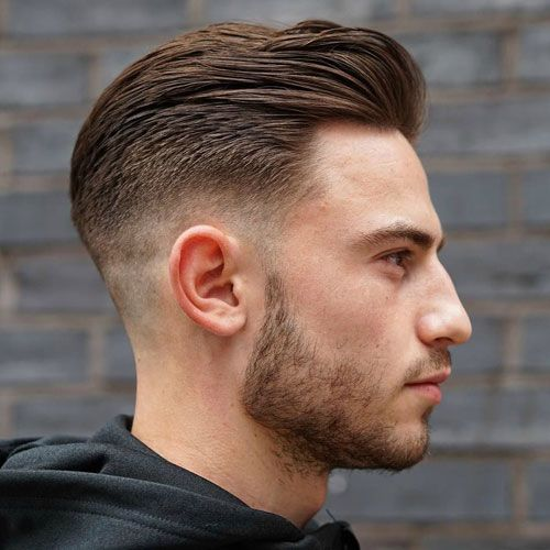 Manly Haircuts And Beards Faded Hair Mens Hairstyles Fade Mens