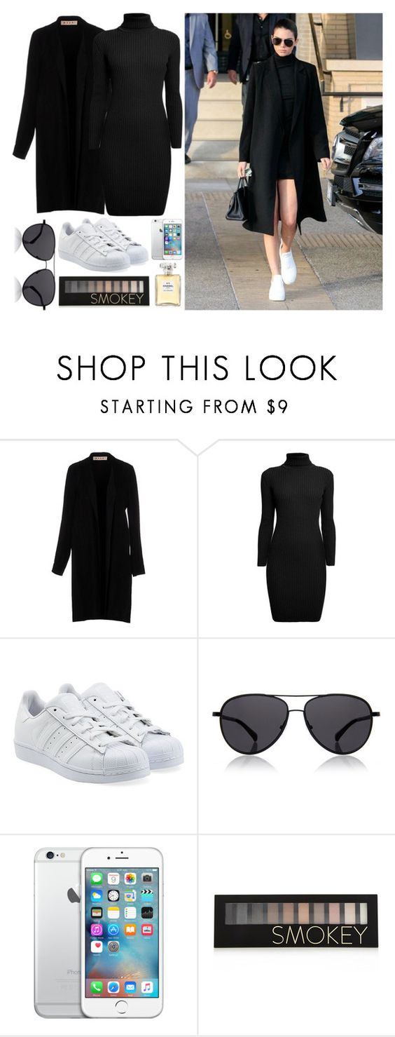 """Visiting an Orphanage of children."" by xstylishprincessx ❤ liked on Polyvore featuring Marni, Rumour London, adidas Originals, The Row, Forever 21 and Chanel"
