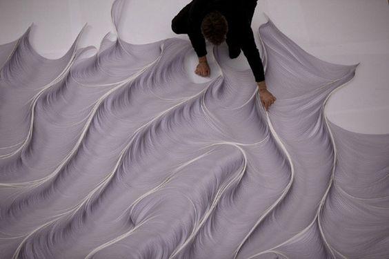 paper sculpture by daniele papuli