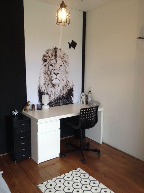 papel pintado magnético lion
