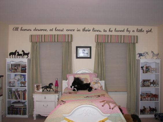 Horses Girls Horse Bedrooms And My Daughter On Pinterest