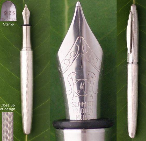 925 Sterling Silver fountain pen
