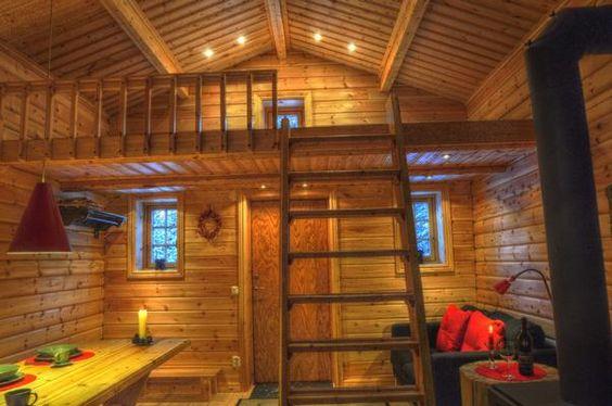 Ferienhaus Sorsele mit Kamin für bis zu 4 Personen mieten                                                                                                                                                      Mehr