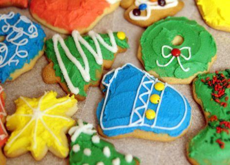 Galletas de navidad, deliciosas y crocantes. http://www.lacocinachilena.tk/galletas-de-navidad/