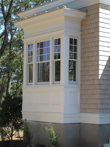 Havens south designs loves the architectural detail for Box bay window kitchen