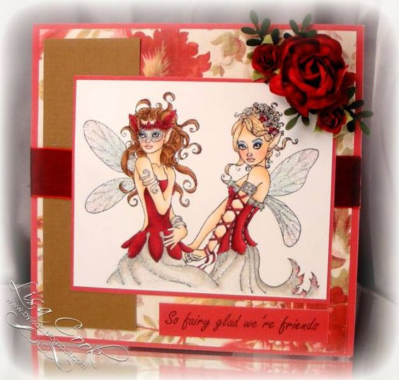 Fairy Special Friends by busysewin - Cards and Paper Crafts at Splitcoaststampers
