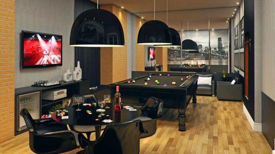 Decor Salteado - Blog de Decoração   Arquitetura   Construção   Paisagismo: Sala de Jogos – veja modelos e dicas para montar uma em sua casa!