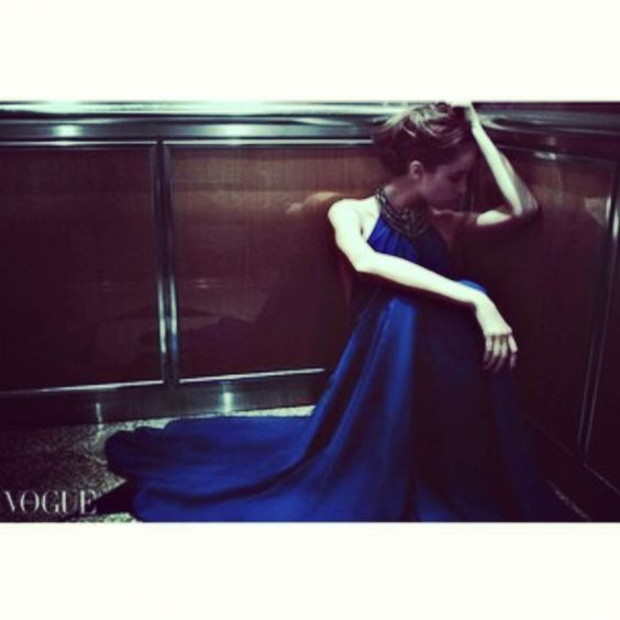 Laura featured on PhotoVogue by Eric Chu