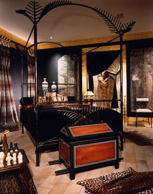 Egyptian Decor Bedroom