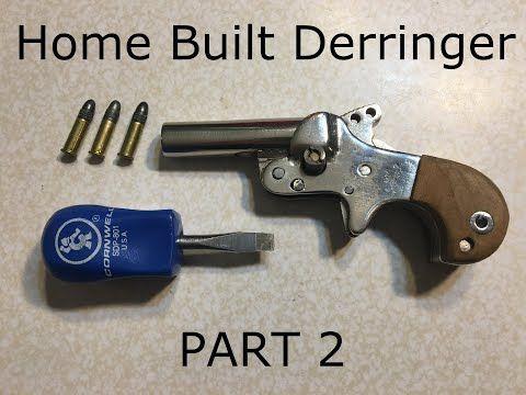 Home Built .22 Derringer (Part 2) Details and Measurements