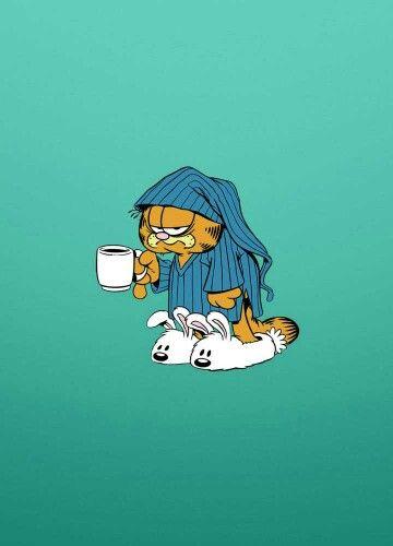 Me in the morning... So sleepy