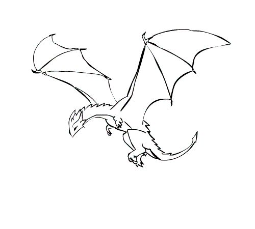 A dragon flying kind of a weird pin but still pretty cool a dragon flying kind of a weird pin but still pretty cool create pinterest dragons animation and google search ccuart Image collections