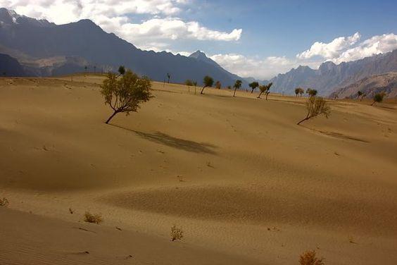 Unbelievable Desert in the Himalayas.