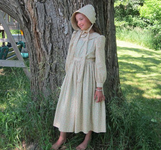Ready to Ship Size 12 Little House on the Prairie/Girls Pioneer ...