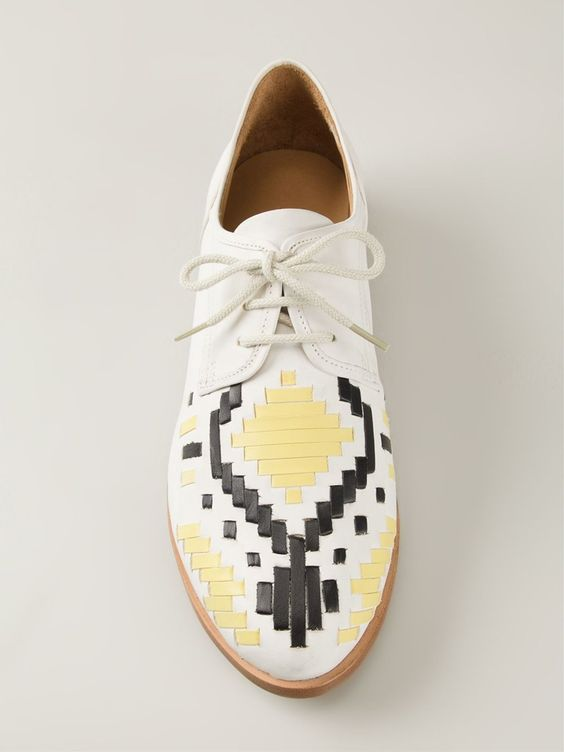 """Comprar Thakoon Addition zapatos Derby tejidos """"Patti"""" en b Store from the world's best independent boutiques at farfetch.com. Shop 300 boutiques at one address."""