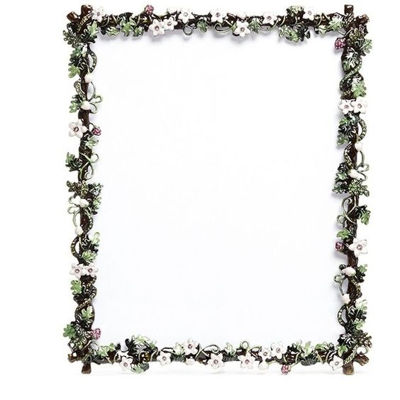 Lane Crawford Botanica small flower 8R photo frame (¥21,580) ❤ liked on Polyvore featuring frames, backgrounds, decor, fillers, borders, picture frame, lane crawford, colored picture frames, rhinestone picture frames and rhinestone frames