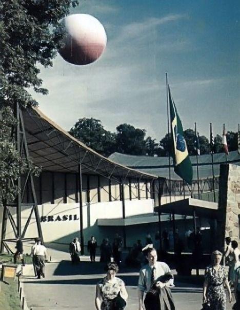 Pavilhão de Bruxelas 1958 / Sérgio Bernardes