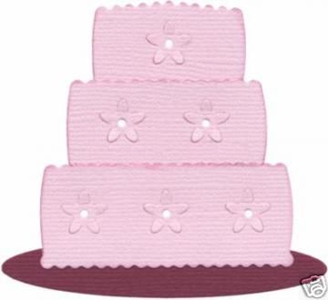 """Quickutz/Lifestyle Crafts """"Wedding Cake"""" Rev-0202 by Chayestamp for $6.10"""