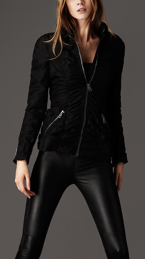 Burberry Ruched seam jacket