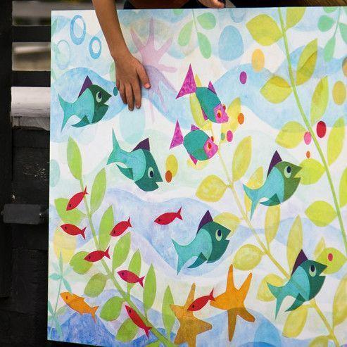 Friendly Fish Canvas Art