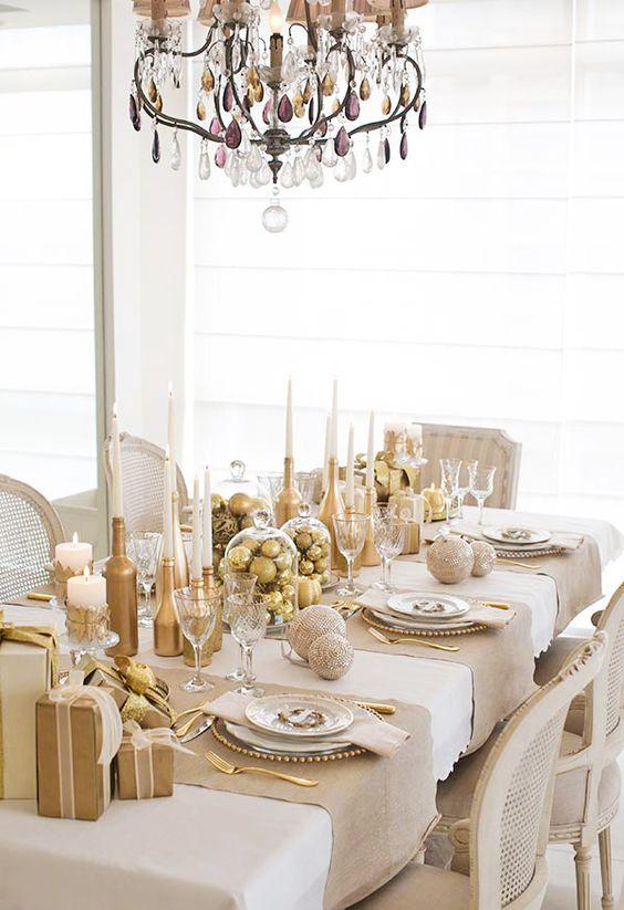 Branco E Dourado Para A Ceia De Natal Zara Home Natal And Zara