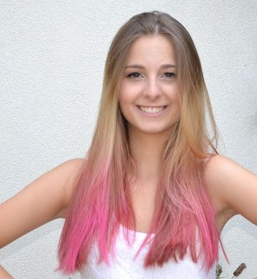marine magpie diy ombr haire rose semi permanent color crazy pinkissimo - Crazy Color Pinkissimo
