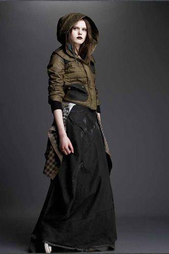 McQ By Alexander McQueen's Line Fall 2010 Lookbook