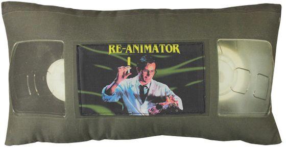 *VHS Pillow