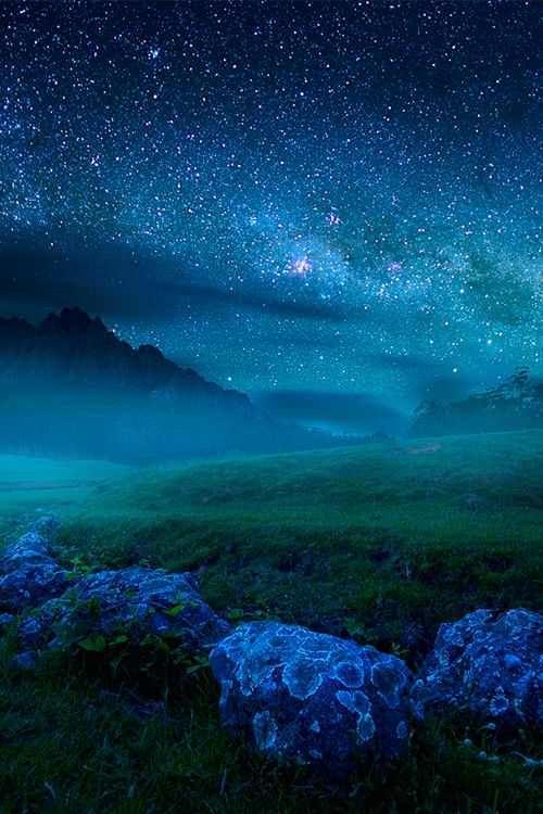 A Magical Night Night Skies Beautiful Sky Beautiful World